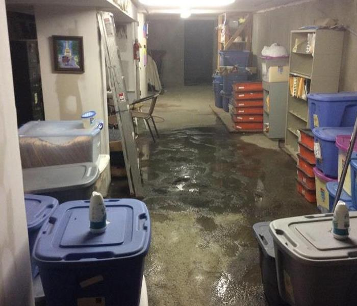 How do I remove water from my basement?